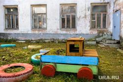 Рабочий визит Алексея Текслера в Карабаш. Челябинская область , детский сад, игровая площадка, карабаш