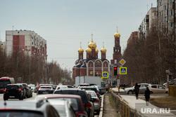 Виды города. Нижневартовск, город нижневартовск, храм рождества христова