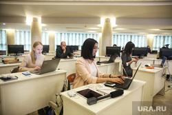 Визит Владимира Путина в Ханты-Мансийск, офис, работа в офисе