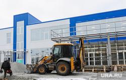 Строительство Центра шорт-трека. Нацпроект. Челябинск, стройка, шорт-трек