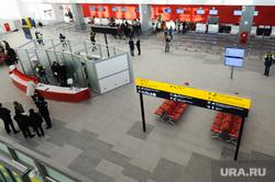 Новый терминал внутренних авиалиний в аэропорту «Курчатов». Челябинск, зал вылета внутренних авиалиний, аэропорт игорь курчатов