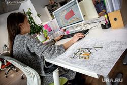 Архитектурная студия «ROCK» Екатеринбург, работа в офисе