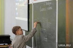 Рабочая поездка губернатора Дубровского в Чебаркульский и Уйский районы Челябинской области, ребенок, школьник, урок, ученик, математика, школа, школьный урок