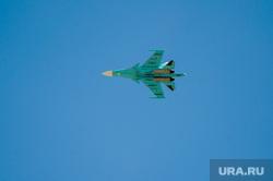 Празднование Дня Победы. Челябинск, су34, бомбардировщик, су-34