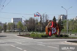 Виды города 9 мая День Победы. Пермь, 75лет победы, праздничное оформление