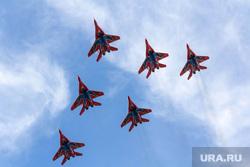 Пилотируемая группа «Стрижи». Магнитогорск, самолеты, стрижи, миг-29, авиашоу, показательные выступления