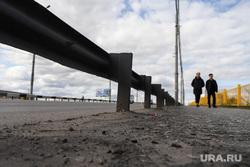 Аварийное состояние Некрасовского моста. Курган, мост, пешеходы, некрасовский мост