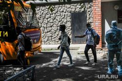 Эвакуация общежития тюменского государственного медицинского университета. Тюмень, эвакуация, общежитие, карантин