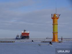 Комиссия ЦИК в Сабетте. Сабетта, маяк, арктика, ледокол