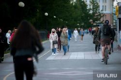Пятничный вечер во время пандемии коронавируса. Екатеринбург, набережная, плотинка, виды екатеринбурга, covid-19