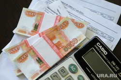 Клипарт по теме Деньги. Челябинск, бухгалтерия, калькулятор, деньги, накладные