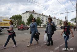 Город в период самоизоляции 27 мая 2020. Пермь, пешеходы, улица ленина в перми