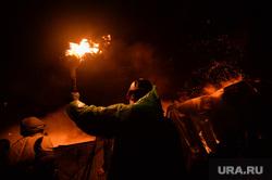 Майдан. Киев. Украина. Ночь 19-20.02.14 Конец перемирия, майдан, боец, беспорядки, война, огонь, факел