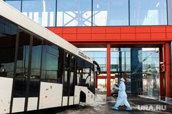 Учения экстренных служб, аэропорта имени Игоря Курчатова. Челябинск, эвакуация, аэропорт, эпидемия, автобус, защитная одежда, коронавирус
