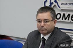 Пресс-конференция Игоря Халина , глава избиркома. Тюмень, халин игорь