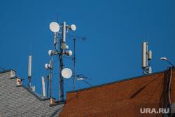 Разное. Курган, связь, крыша дома, средства связи, спутниковая система, антенны