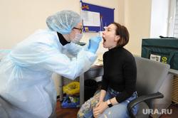 Тест на коронавирус у журналистов контактных с условно зараженным. Челябинск, медсестра, медик, эпидемия, тест на covid19, тест на коронавирус, верина ульяна