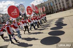 Первомайская демонстрация. Пермь, первомай, лукойл, первомайская демонстрация