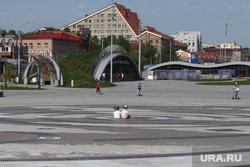 Город в период самоизоляции 27 мая 2020. Пермь, дети, эспланада пермь
