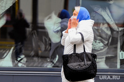 Пустой город. Обстановка на улицах города во время эпидемии коронавируса. Челябинск, медицинская маска, кировка