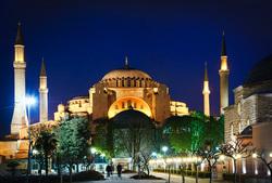 Клипарт depositphotos.com, турция, стамбул, флаг турции, достопримечательности турции, собор святой софии