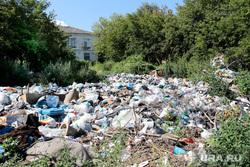 Свалки мусора Курган, помойка, частный сектор, свалка мусора, мусорка