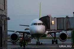 Вечерний споттинг в Кольцово. Екатеринбург, аэропорт, самолет