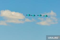 Празднование Дня Победы. Челябинск, су34, бомбардировщик, самолет, су-34