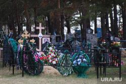 Кладбище Рябково. Курган, венки, могилы, кладбище