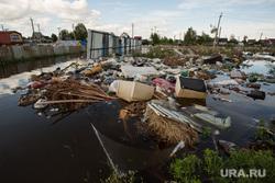 Наводнение. Нижневартовск, мусор, наводнение, потоп, свалка