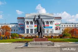 Рабочая поездка по городу №2. Екатеринбург, урфу, памятник кирову, площадь кирова, упи