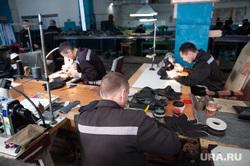 Производство обуви в ИК-2. Тюмень, производство обуви