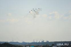 Летная группа Стрижи на авиашоу в честь Дня города. Челябинск, армия, стрижи, авиашоу, высший пилотаж, истребитель, аэродром шагол, миг29, летная группа стрижи, военно-космические силы