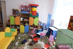 Визит врио губернатора Вадима Шумкова в Петуховский район. Курган, детский сад, игровая комната, детский сад, детская комната, игрушки