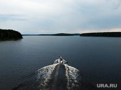 Виды с квадрокоптера. Екатеринбург, катер, вейкбординг, водные виды спорта, озеро, река, природа