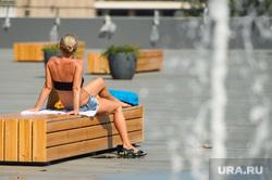 Клипарт. Екатеринбург, загар, лето, жара