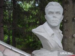 Памятник Кузнецову в селе Красный Адуй под Екатеринбургом, кузнецов николай