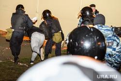 Третий день протестов против строительства храма Св. Екатерины в сквере у театра драмы. Екатеринбург, беспорядки, права человека, задержание, омон