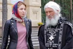 Отец Сергий (Романов) и Наталья Поклонская
