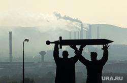 Клипарт. Магнитогорск, трубы, ммк, смог, дым из труб, магнитогорск, город, нму, выбросы, экология, памятник, тыл и фронт