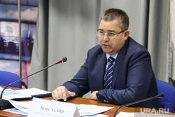 Пресс конференция председателя избирательной комиссии Игоря Халина. Тюмень , халин игорь
