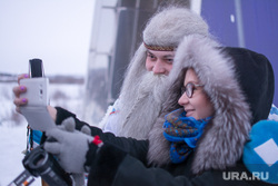 Ямал-Ири, селфи, дед мороз, ямал ири