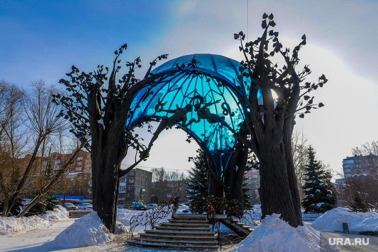 Челябинские скульптуры. Челябинск