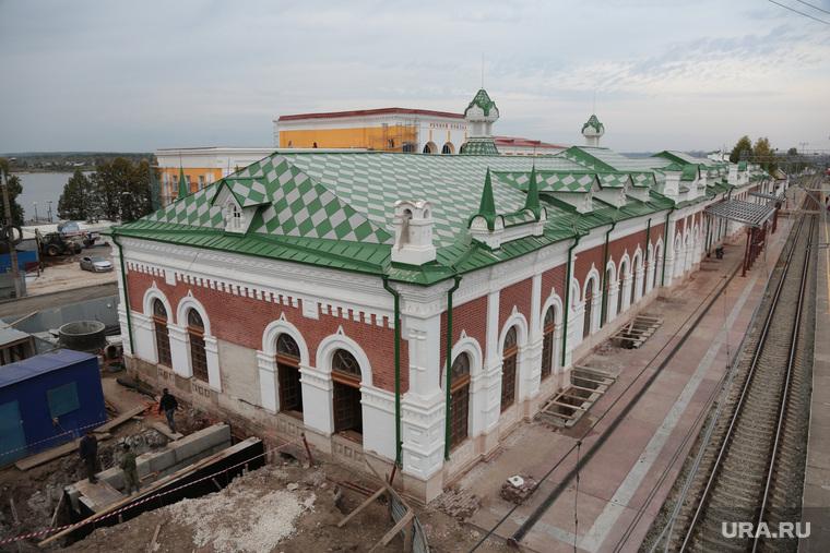 Набережная Камы и объекты предполагаемые под использование в новом культурном проекте. Пермь