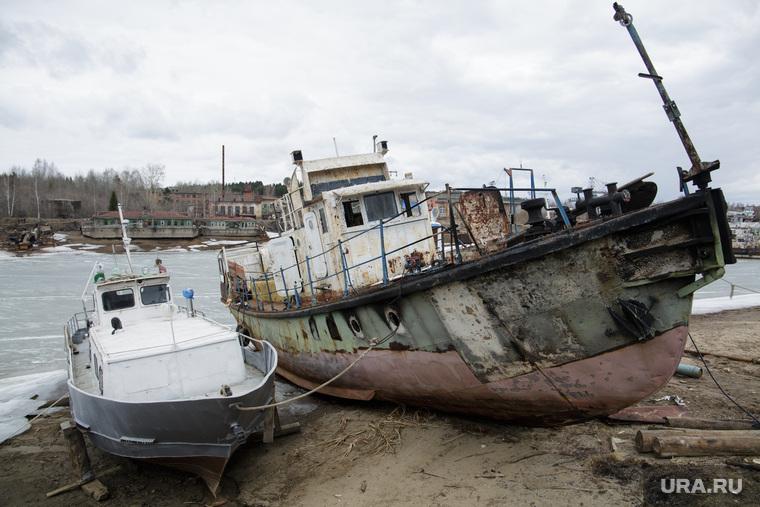 Заозерье, кладбище кораблей. Пермь