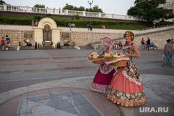 Крым., набережная, севастополь, цветочница