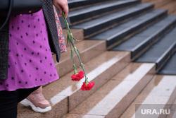 Похороны Егора Перепелкина, погибшего в Керчи во время теракта. Челябинск
