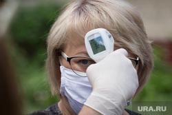 Клипарт. Магнитогорск, медицинская маска, бесконтактный измеритель температуры тела