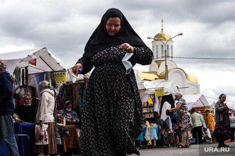Троицкая православная ярмарка. Курган
