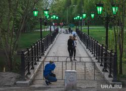Лето в городе. Сургут, забор, covid-19, парк закрыт, самоизоляция, оставайтесь дома, самоизоляция нарушение